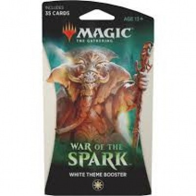 Foto van TCG Magic The Gathering Theme Booster - War Of The Spark White MTG