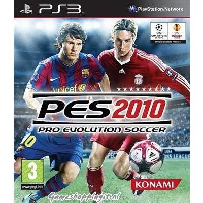 Pro Evolution Soccer 2010 (Pes 2010) PS3