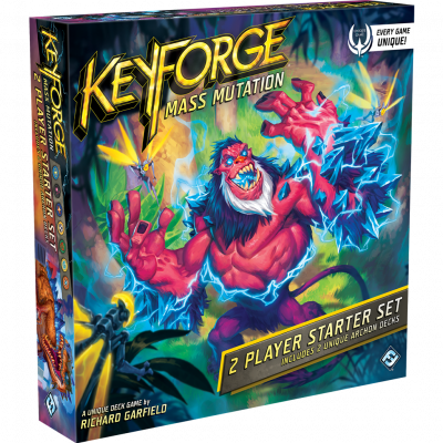Foto van Keyforge Mass Mutation 2 Player Starter Set BORDSPELLEN