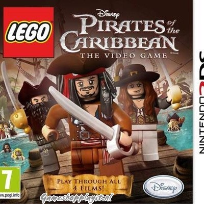 Foto van Lego Pirates Of The Caribbean The Video Game