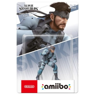 Amiibo Solid Snake (Super Smash Bros. Coll.) AMIIBO