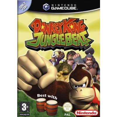 Foto van Donkey Kong Jungle Beat Nintendo GameCube