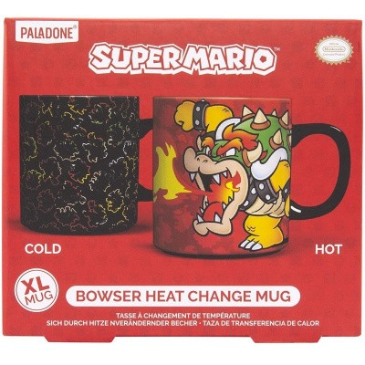 Super Mario Bowser Heat Change Mug MERCHANDISE