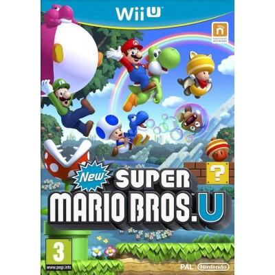 Foto van New Super Mario Bros. U WII U