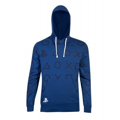 PlayStation - AOP Icons Men's Hoodie - XL MERCHANDISE