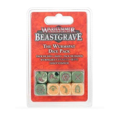 Foto van Warhammer Underworlds: Beastgrave - The Wurmspat Dice Pack WARHAMMER UNDERWORLDS