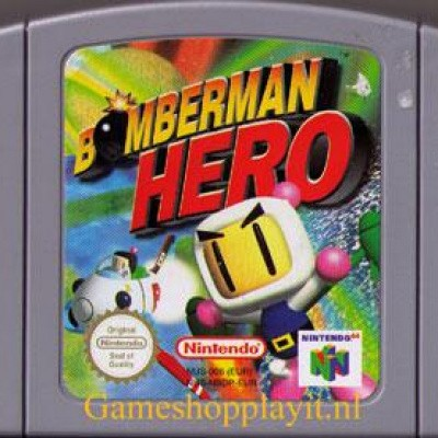 Foto van Bomberman Hero (Losse Cassette)