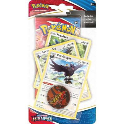 TCG Pokémon Sword & Shield Battle Styles Premium Checklane Booster - Corviknight POKEMON