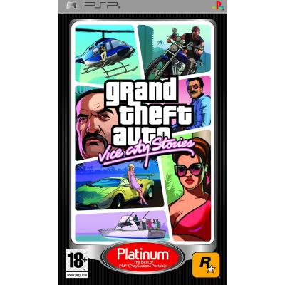 Foto van Grand Theft Auto Vice City Stories (Gta) (Platinum) PSP