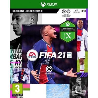 Foto van FIFA 21 XBOX ONE