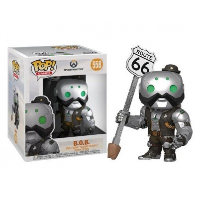 Foto van Pop! Games: Overwatch - B.O.B. Super Sized FUNKO