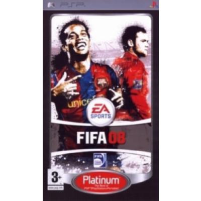 Foto van Fifa 08 (Platinum) PSP