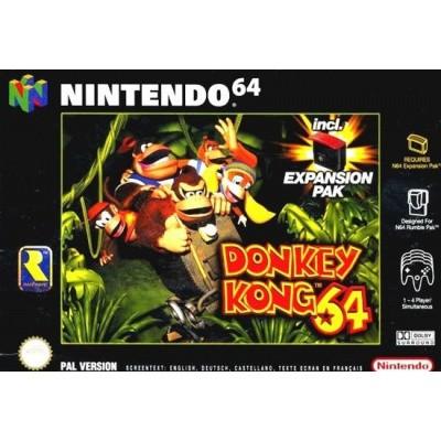 Foto van Donkey Kong 64 N64