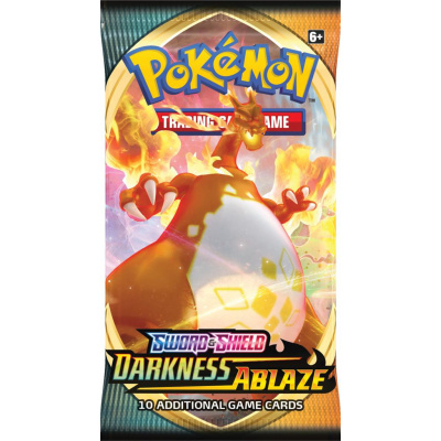 TCG Pokémon Sword & Shield Darkness Ablaze Booster Pack POKEMON