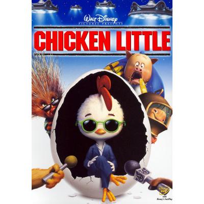 Foto van Chicken Little DVD