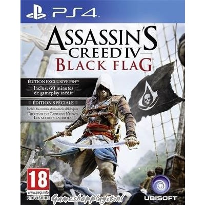 Foto van Assassin's Creed IV Black Flag Special Edition PS4