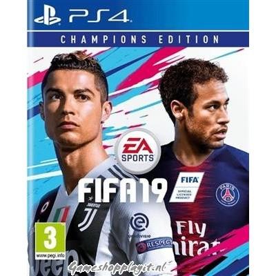 Foto van Fifa 19 Champions Edition PS4