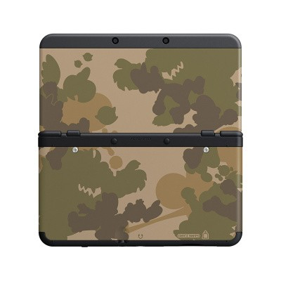 Foto van New 3Ds Cover Plate Mario Camouflag 3DS