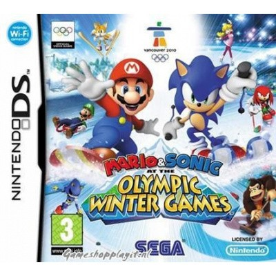 Mario & Sonic Winter Games NDS