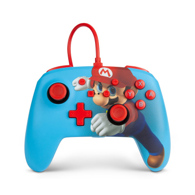 Foto van PowerA Enhanced Wired Controller - Mario Punch SWITCH