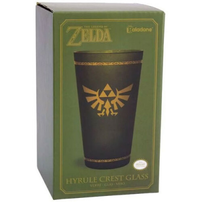Foto van The Legend of Zelda: Hyrule Crest Glass MERCHANDISE