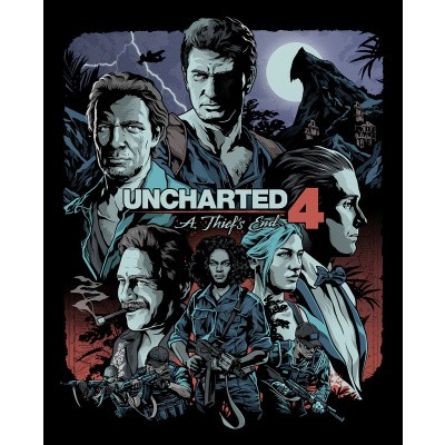 Foto van Uncharted 4 A Thief's End (Steelcase) PS4