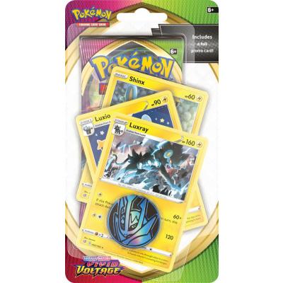 TCG Pokémon Sword & Shield Vivid Voltage Premium Checklane Booster - Luxray POKEMON