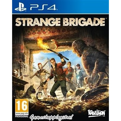 Foto van Strange Brigade PS4