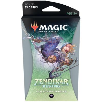 TCG Magic The Gathering Zendikar Rising Black Theme Booster MAGIC THE GATHERING
