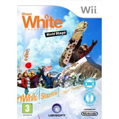 Shaun White Snowboarding: World Stage WII