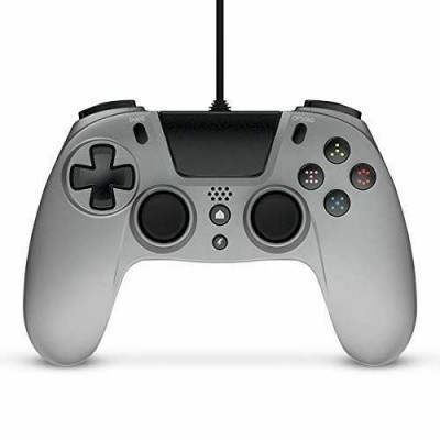 Foto van Gioteck VX4 Premium Wired Controller Silver PS4