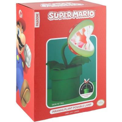 Super Mario: Piranha Plant Posable Lamp MERCHANDISE
