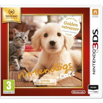 Nintendogs: Golden Retriever + Cats & Nieuwe Vrienden (Nintendo Selects) 3DS