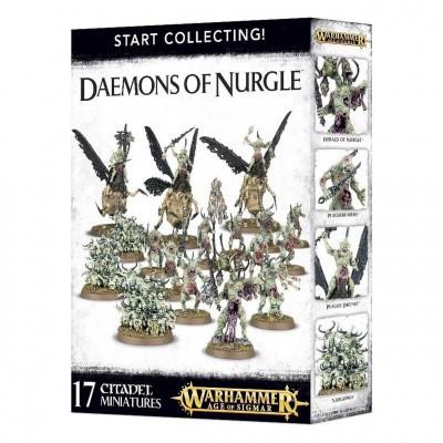 Start Collecting! Daemons Of Nurgle Warhammer Age of Sigmar