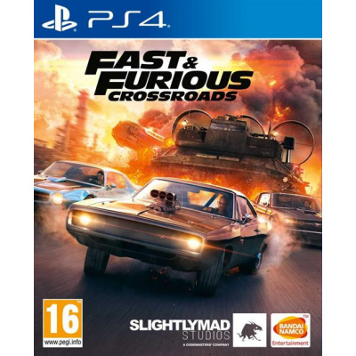 Foto van Fast & Furious Crossroads PS4