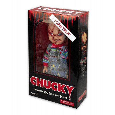 Child's Play: 15 inch Talking Chucky Doll MERCHANDISE