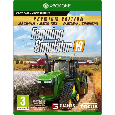 Foto van Farming Simulator 19 - Premium Edition XBOX ONE