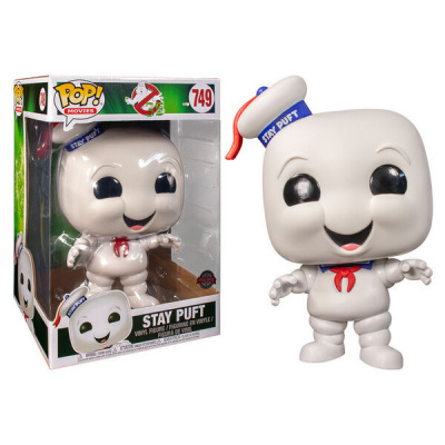 Pop! Movies: Ghostbusters - Stay Puft 10 Inch Exlusive FUNKO