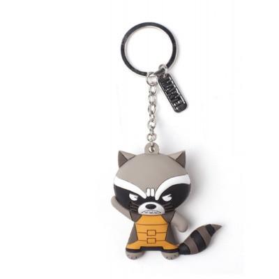 Foto van Marvel - Raccoon Character 3D Rubber Keychain