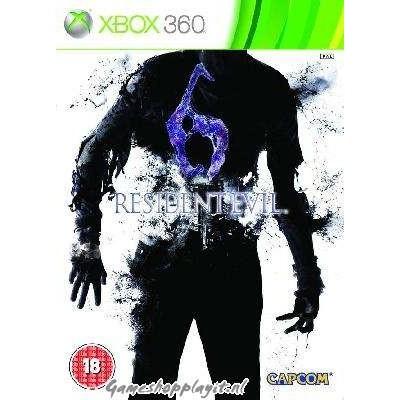 Resident Evil 6 Steelbook XBOX 360