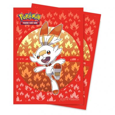 Foto van TCG Pokémon Sword & Shield Galar Sleeves - Scorbunny POKEMON