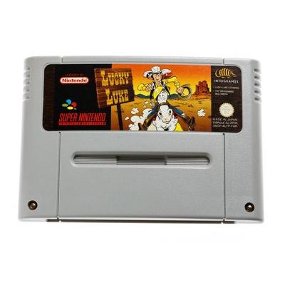 Foto van Lucky Luke (Losse casette) SNES