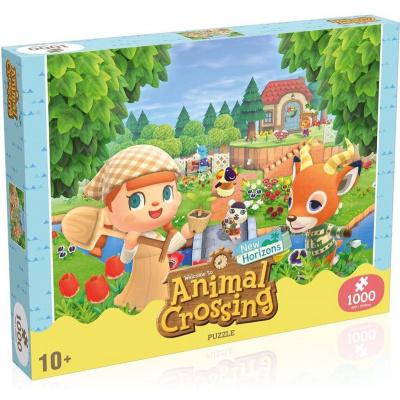 Animal Crossing Puzzle 1000pc PUZZEL