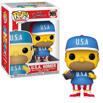 Pop! Television: The Simpsons - U.S.A. Homer FUNKO
