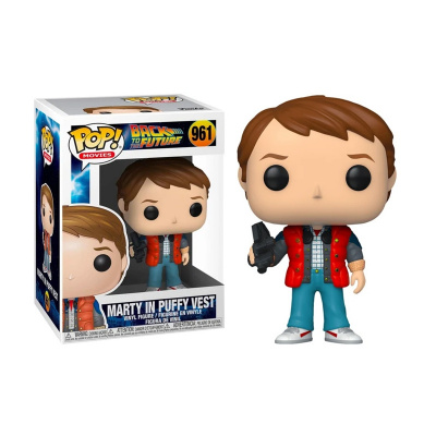 Foto van Pop! Movies: Back to the Future - Marty in Puffy Vest FUNKO
