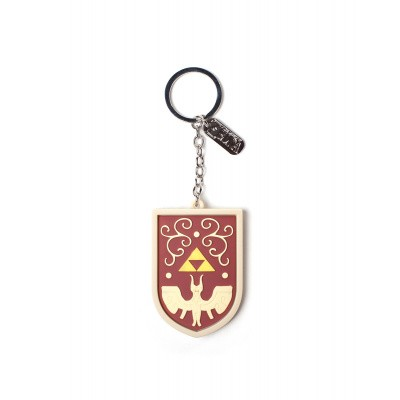 Foto van Zelda - Hero's Shield 3D Rubberen Sleutelhanger with Charm