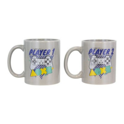 Playstation: PSX Player One & Player Two Mug Set MERCHANDISE