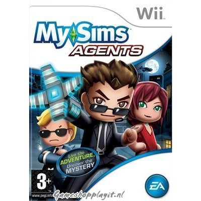 My Sims Agents WII