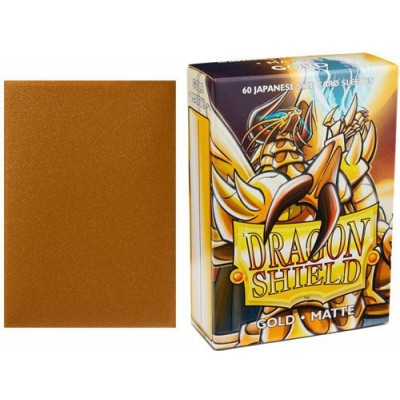 TCG Sleeves - Dragon Shield - Gold Matte Japanese Size