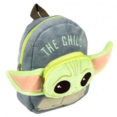 Foto van Star Wars: The Mandalorian - Yoda Child Pluchen Backpack 22cm MERCHANDISE